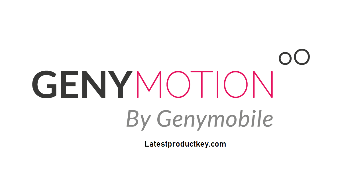 Genymotion 3.0.4 Crack with License Key 2020 Torrent [Portable]