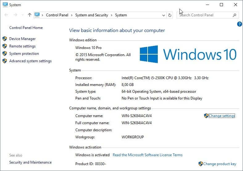 Windows 10 Activation Key 2020 Latest