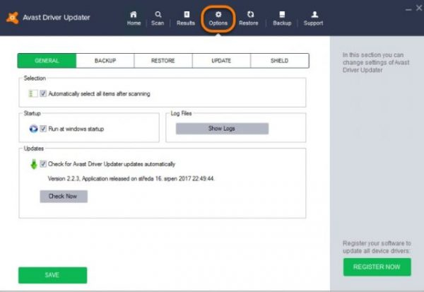 Avast Driver Updater 2.5.6 Registration Key
