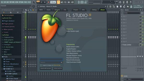 FL Studio 20.6.2.1549 Crack + Reg Key Full Torrent [Updated] 2020 FREE