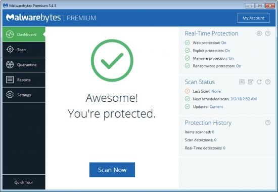 Malwarebytes 4.1.0.56 Premium Crack + License Key 2020