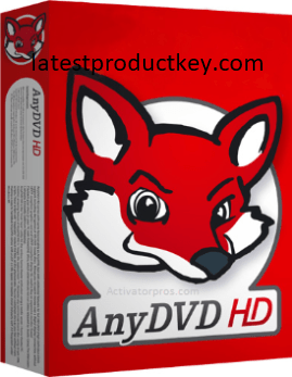 AnyDVD HD 8.4.8.0 Crack + License Key Torrent Free Download