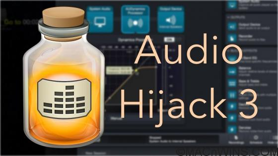 Audio Hijack 3.7.1 Crack with License Key (Mac) Download