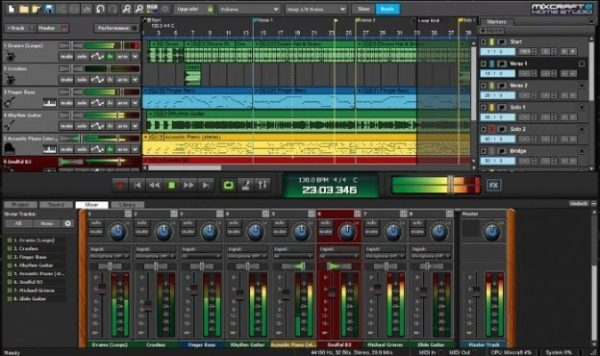 Mixcraft Pro 9 Crack Studio + Registration Code 2020 (Updated) Download