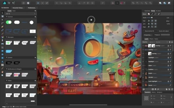 Serif Affinity Designer Crack 1.8.3.641 with Keygen 2020 Lifetime