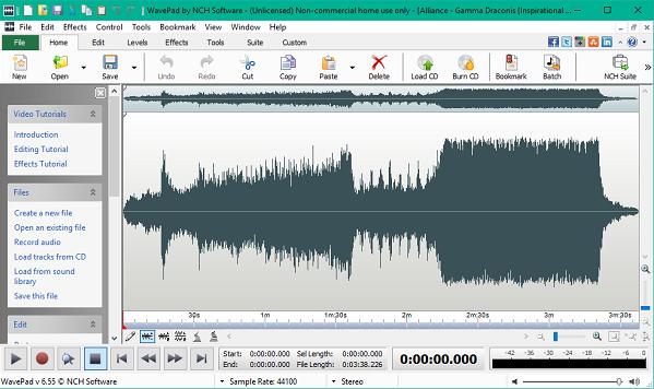 WavePad Sound Editor 10.42 Crack + Registration Code Free Download