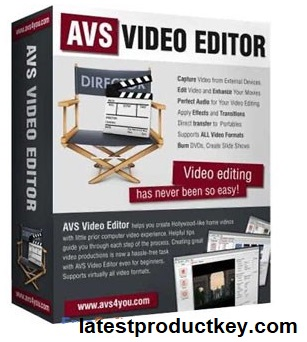 AVS Video Editor 9.3.1.354 Crack + Activation Key Latest Version