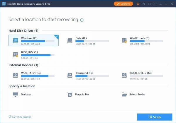 EaseUS Data Recovery Wizard 13.3 Key