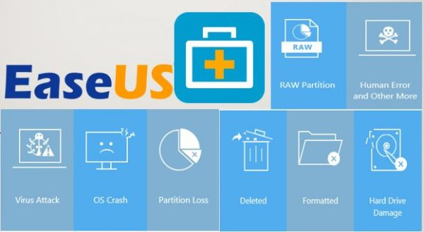 EaseUS Data Recovery Wizard 13.3.0 Crack Plus Key Torrent