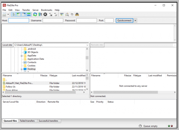 FileZilla Pro 3.48.0 incl Crack Final Keys Download